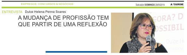 CAPA - Jornal A Tarde - Salvador - Dulce 2.1